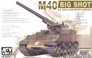 AF35031 M40 Self Propelled Gun